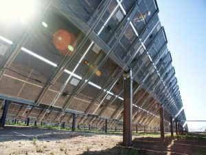 Mounting Frameless Thin-Film Modules on Solar Trackers