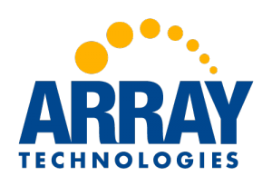 Array Technologies Logo, Colored, 500x342